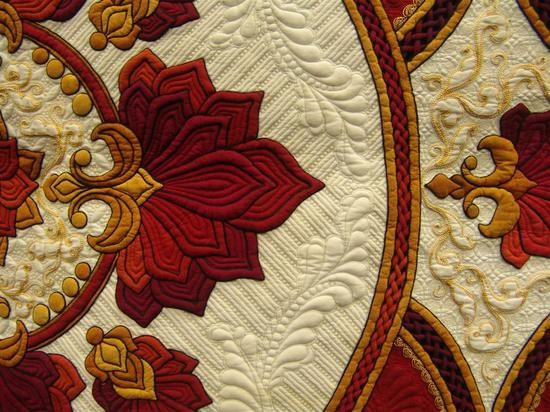 Best of Show - by Sharon Schamber International Machine Quilters Best of Show 2012 Winners close-up...Outstanding work!!