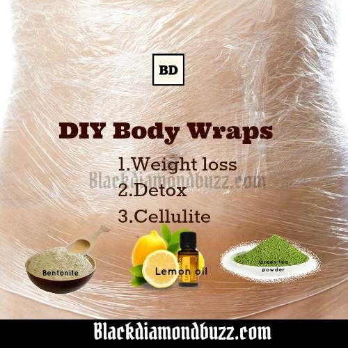Diy Body Wraps For Weight Loss Detox And Getting Rid Of Cellulite