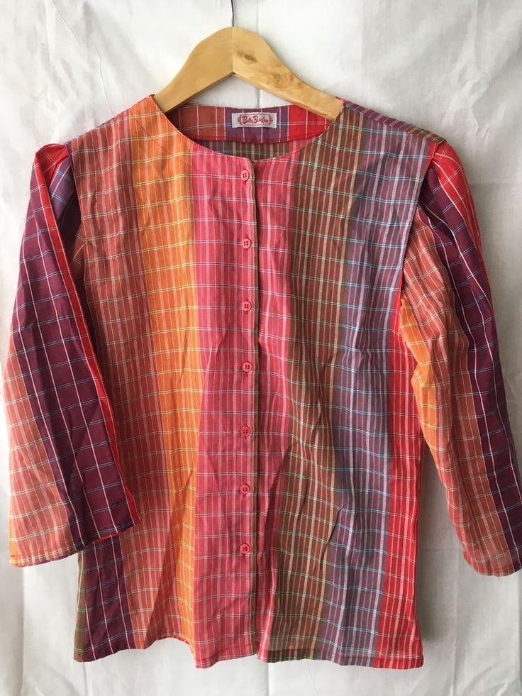 Betty Barclay Blouse Vintage Retro 70s 80s  | eBay