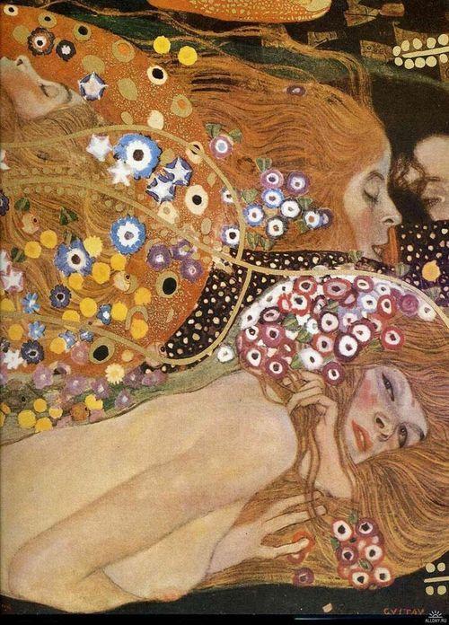 Water Snakes ii, Gustav Klimt, 1907