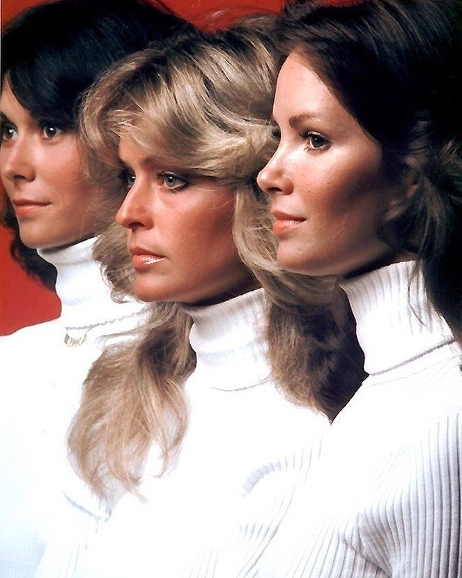 regram @javi13_sanz Once upon a time three little girls went to the police academy. and they were each assigned very hazardous duties but I took them all away from all that and now they work for me. My name is Charlie. #charliesangels #katejackson #farrahfawcett #jaclynsmith #tv #tvseries #vintage #retro #70s #hairstyle #hairporn #profile