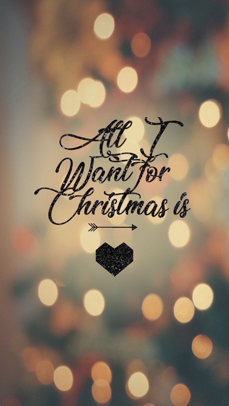 06 Fond Ecran Light Lumieres All I Want For Christmas Is