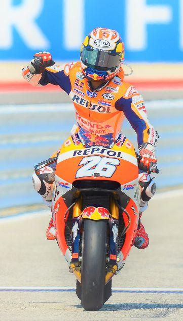 Dani Pedrosa 26 wins at Misano MotoGP 2016