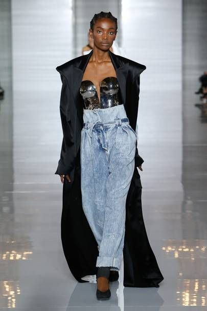 9f9f5168 Balmain Spring/Summer 2019 Ready-To-Wear | British VogueLOOKIN Like those  jeans I have posted in my Posh closet right now! OMG. I knew it! come see  what I ...