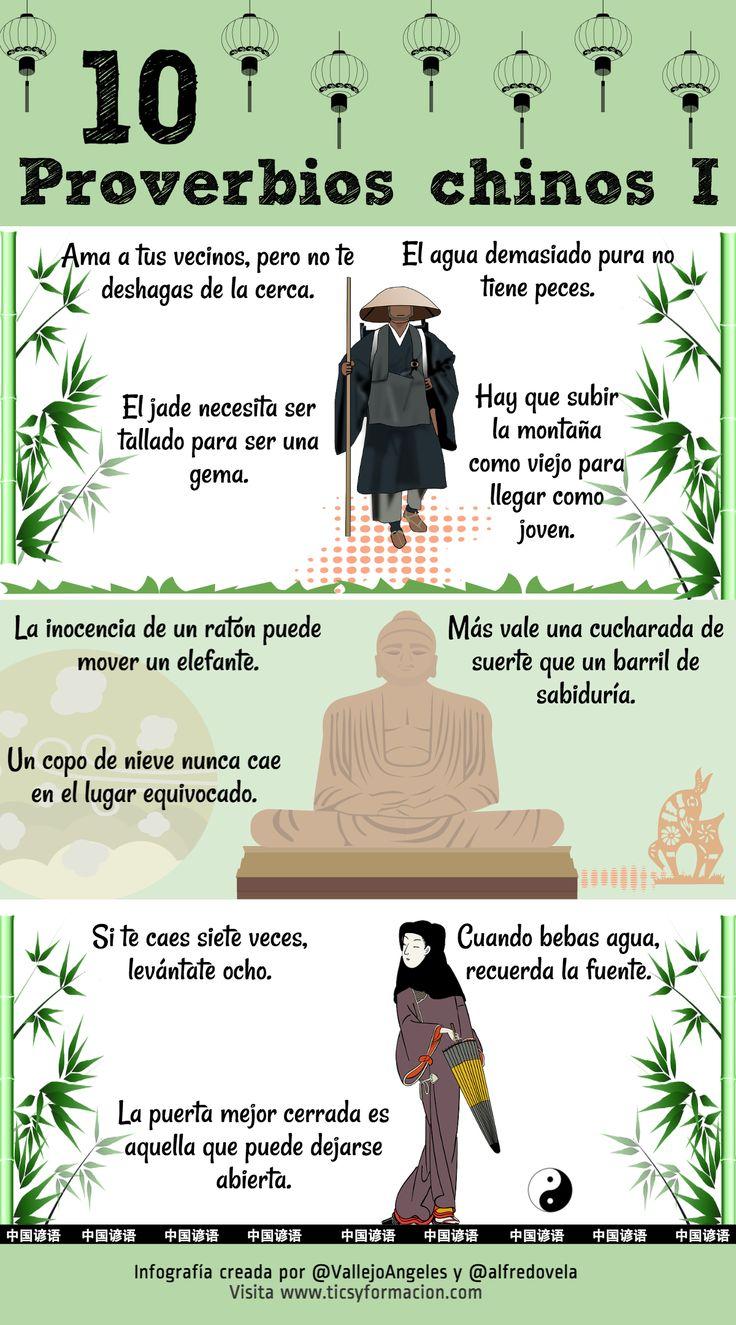 10 proverbios chinos (I) #infografia
