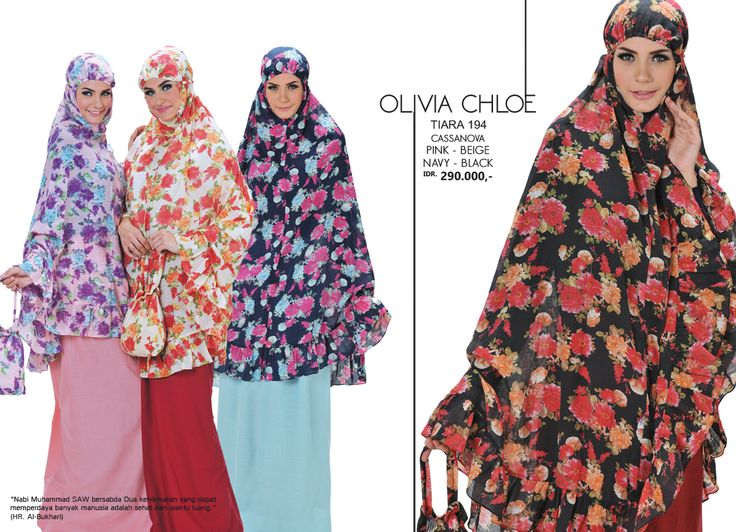 Olivia Chloe - Tiara 194 Cassanova  Pink, Beige, Navy & Black AVAILABLE only IDR 290.000,-