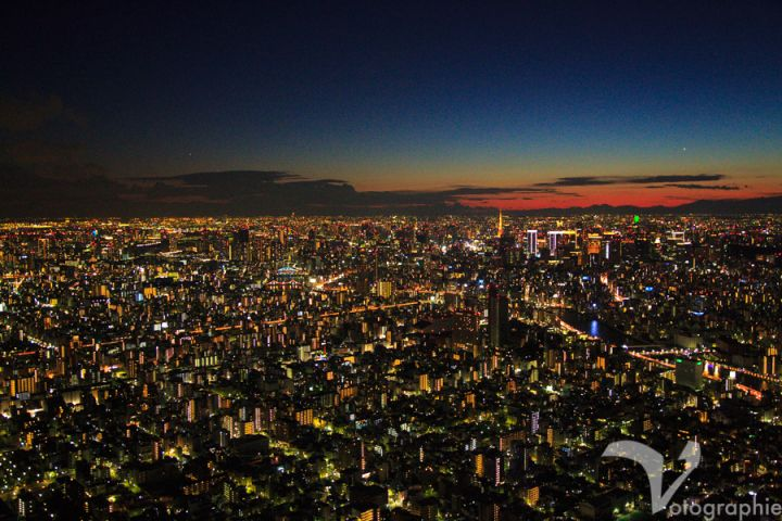 View from Skytree, Tokyo, Japan