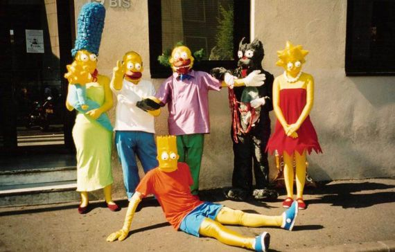 Halloween Simpsons - Group Fancy dress