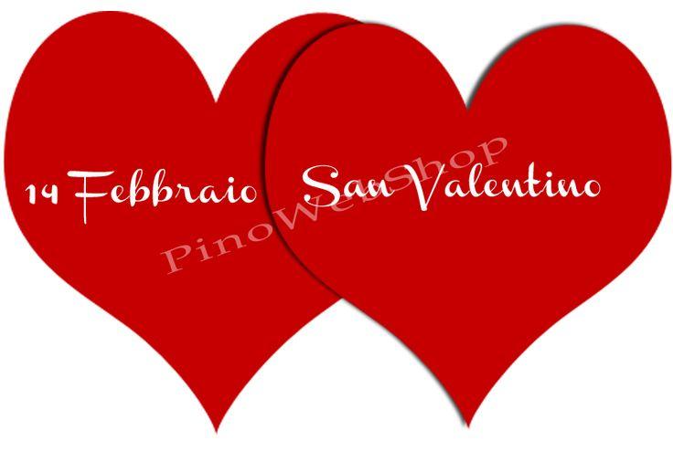 #SanValentino sta per arrivare... #Auguri a tutti gli #Innamorati da: http://www.pinowebshop.com/