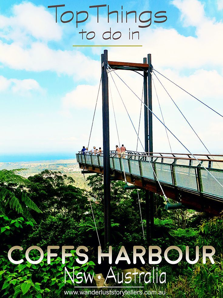Top 5 Things to do in Coffs Harbour, NSW (Australia) and they are FREE too!!  We also list our favourite accommodations to make your holiday planning easy! Read more on wanderluststorytellers.com.au