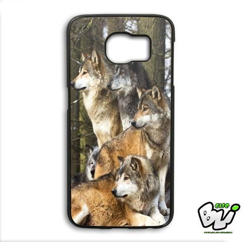 Wolf Samsung Galaxy S6 Edge Plus Case