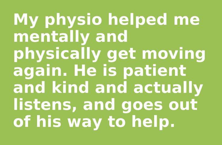 - Cheryl Leddie. (Physio, Ashley Lake, Milfrod Physio, Auckland).