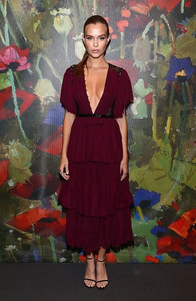 Josephine Skriver attends the Take Home a Nude Art Party and Auction