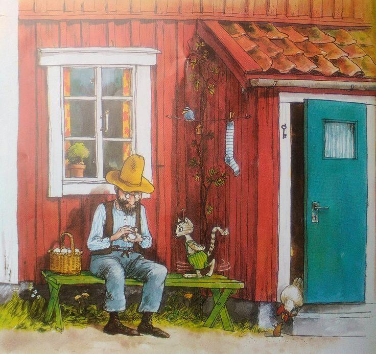 Pettersson und Findus Eine Geburtstagstorte für die Katze 1984