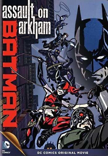 Бэтмен: Нападение на Аркхэм (2014) скачать бесплатно, скачать мультфильм Бэтмен: Нападение на Аркхэм в хорошем качестве
