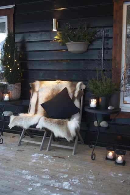 Välkommen in.... till mitt vinterparadis och fritidshus eller mitt andra hus, kanske jag ska säga... För fyra år sedan till jul stod hus...