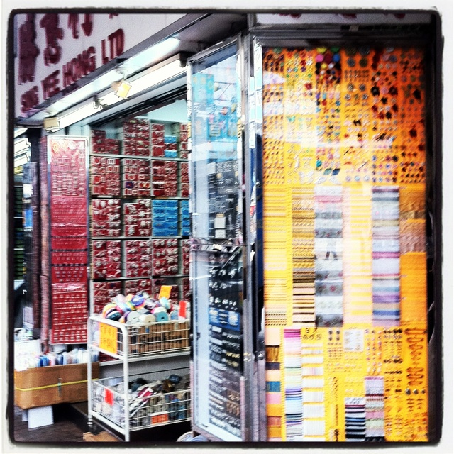 Button and trims sourcing in Sham Shui Po Hong Kong