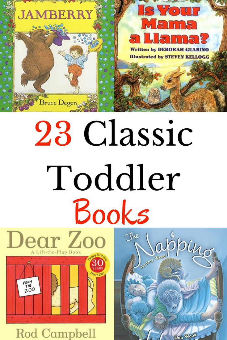 23 Classic Books to Read to Toddlers | Toddler books, Best ...