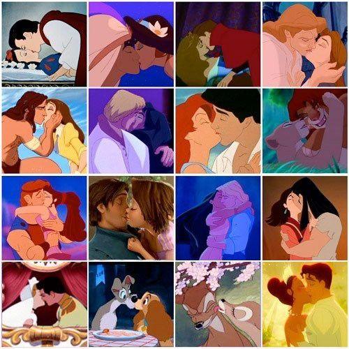 ugh i'm a sucker for all things disney.: A Kiss, First Kiss, Disney Couple, Disneykiss, Disney Princesses, Disney Kiss, True Love, Disney Movie, Fairies Tales