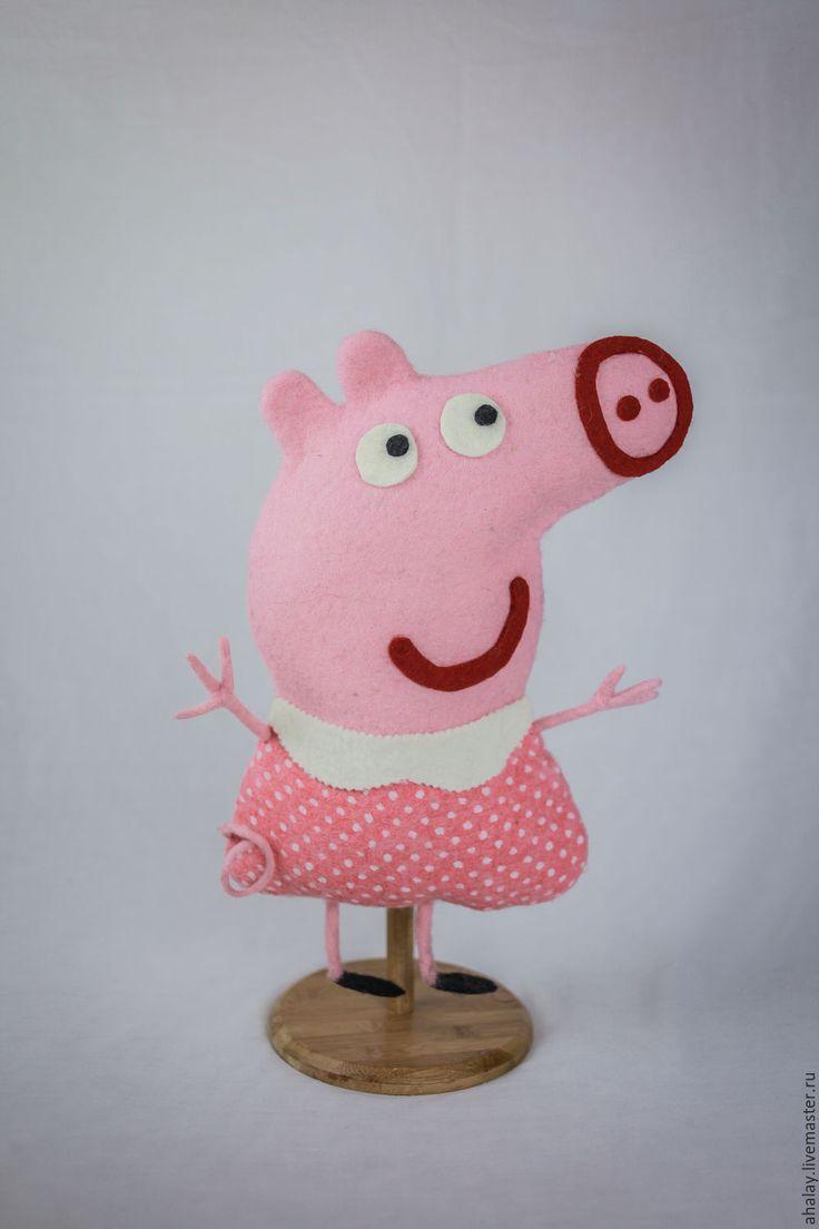 Купить Подушка-игрушка из войлока - подушка, подушка декоративная, подушка-игрушка, подушка диванная