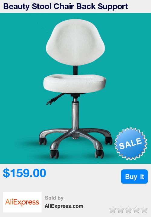 Beauty Stool Chair Back Support Dentist Doctor Medical Office Salon Spa Tattoo Equipment Hydraulic Adjustable Rolling Stool * Pub Date: 19:42 Apr 9 2017