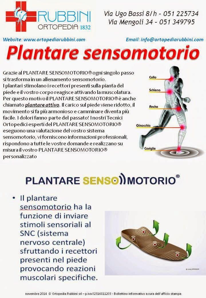ROBERTO RUBBINI Tecnico Ortopedico: Plantari sensomotori