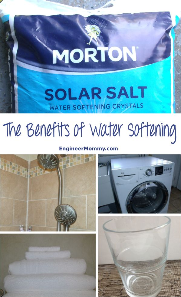 If your home doesn't have soft water, click the picture to find out why you need to get a water softening system. Also, watch the video in the post that explains all the benefits of a water softener, including cleaner dishes, cleaner laundry, cleaner appliances, cleaner pipes, and more. #ad #softwater @mortonsalt