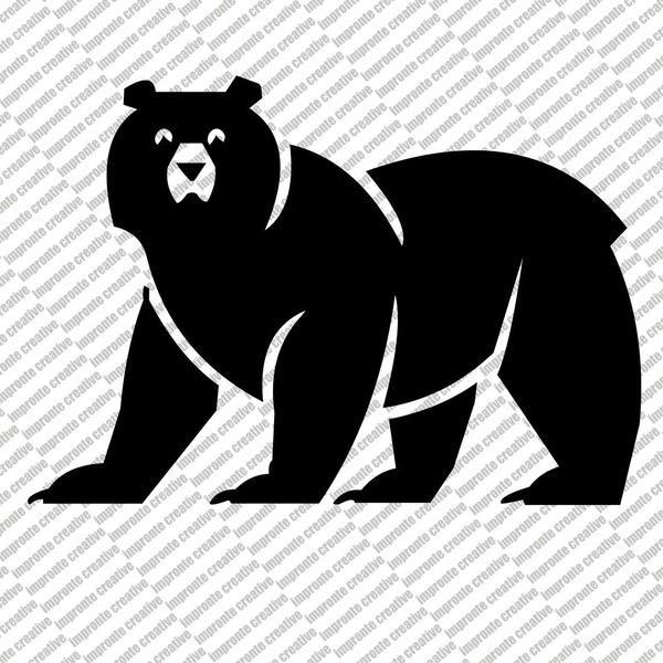 Adesivo Sticker BEAR GAME di impronte creative shop su DaWanda.com