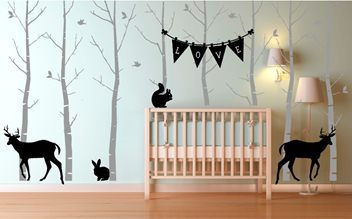 Woodland Theme Wall Decals | Trade Me