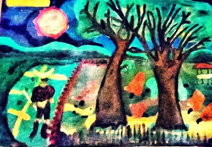 HARLEQUIN AND THE TREE OF HOPE | Tengkuputeh