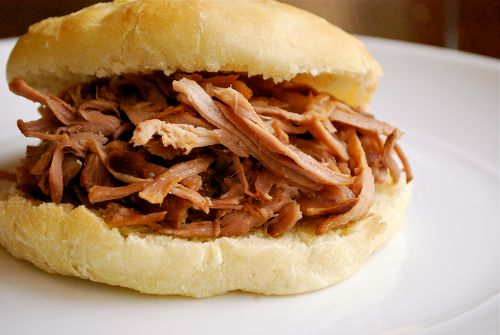 Apple Cider Pulled Pork Sandwiches by asweetpeachef: You could easily make this in a slow cooker. #Pulled_Pork #Apple_Cider