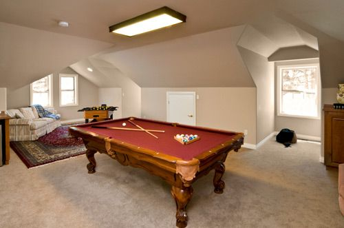 How about converting your loft into your very own games room.
