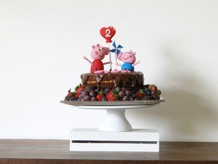 Naked Cake Peppa Pig!