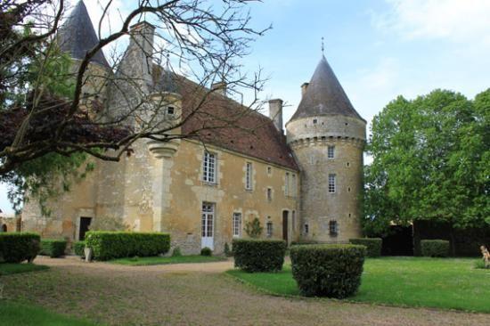 Manoir de l'Angenardière. Saint-Cyr-la-Rosière 61130. Normandie.