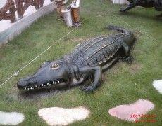 Big Crocodile Statue