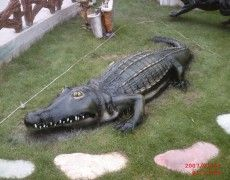 Big Crocodile Statue