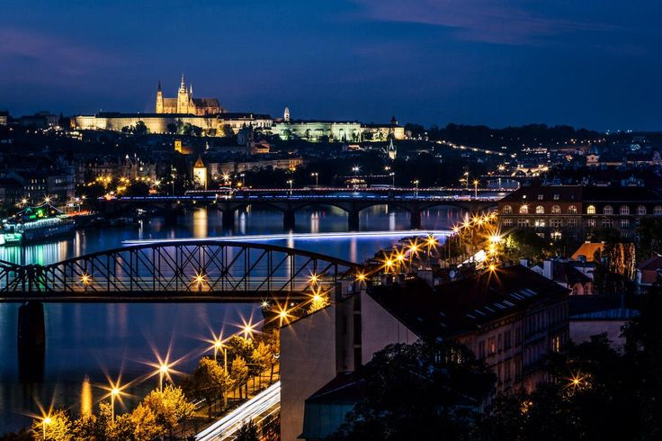 A lovely view of Prague Castle in the evening. PHOTO: Honza Zima