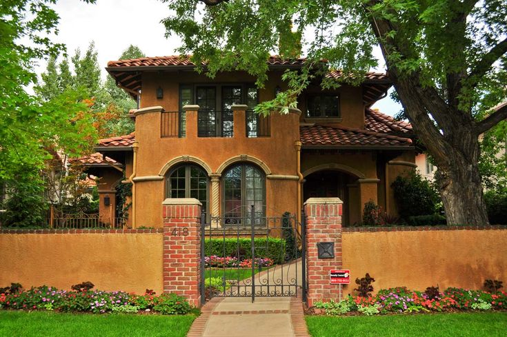 Latest spanish house colors exterior google search for Spanish style exterior