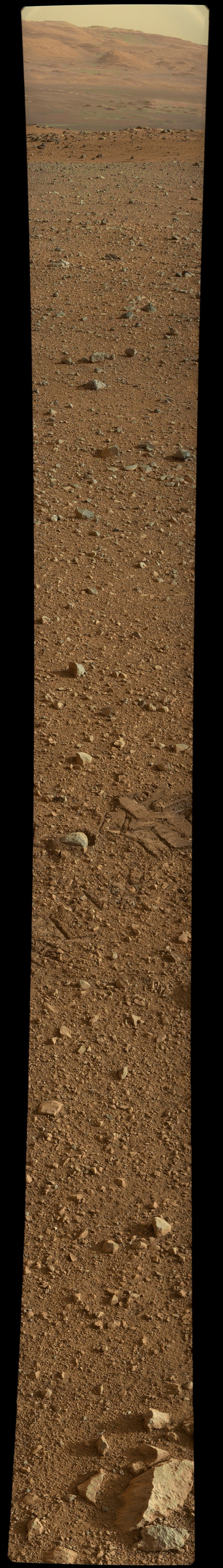 Last panoramic from Curiosity Rover, on Mars. http://www.db-prods.net/marsroversimages/curiosity.html#sol17