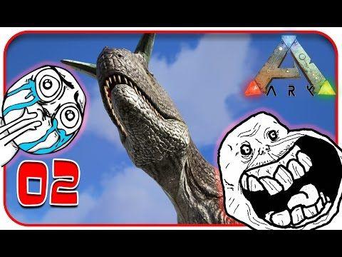 In questo episodio di ark, gioco survival preistorico, mamidd riesce a catturare un magnifico esemplare di carnosauro. L'addestramento non ha dato grossi problemi, a parte qualche tentativo di sua maesta rex e la regina argentavis #italiansharks #ark #dinosauri