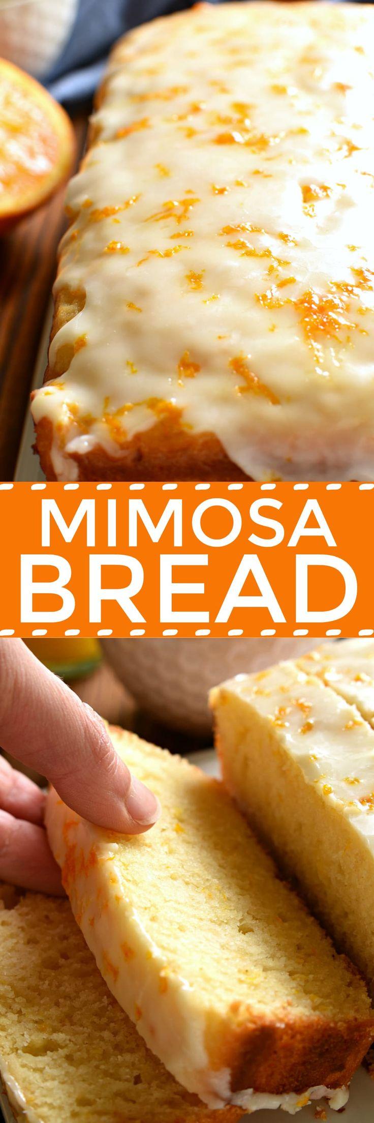 Glazed Mimosa Bread