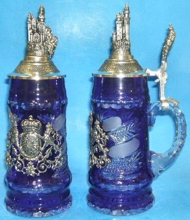 Lord of Crystal Bavaria Beer Stein - Authentic Beer Steins from Germany -
