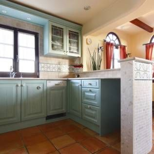 地中海デザインキッチンのインテリア・雑貨・収納家具 | homify