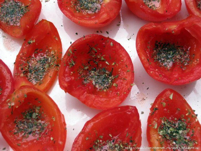 вяленые пряные помидоры
