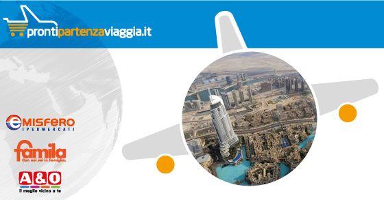 PRONTI, PARTENZA, VIAGGIA! DUBAI da € 890,00 Scopri di più su
