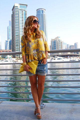 Dubai street fashion