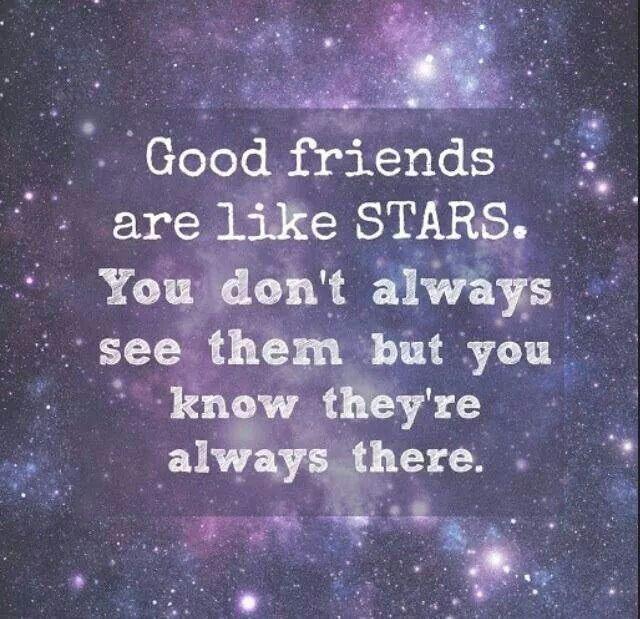 Essay On Good Friends Are Like Stars