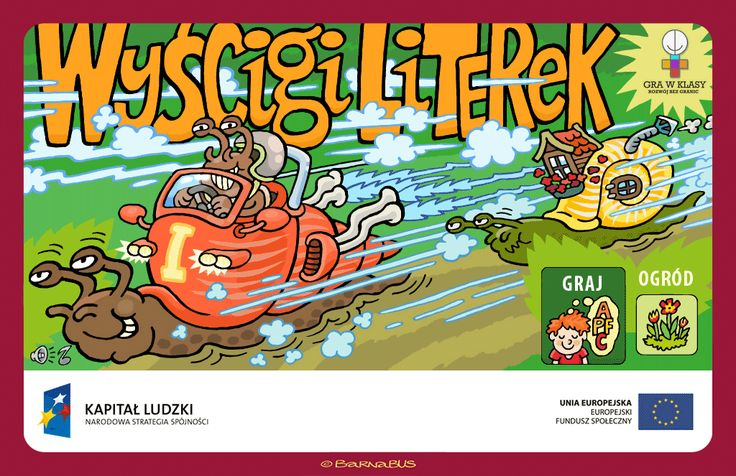 © Barnabus - #Gra edukacyjna ▪ Educational #game The Letters Race - screen 01.