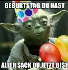 Yoda Geburtstag alter Sack – Weißflog Jens