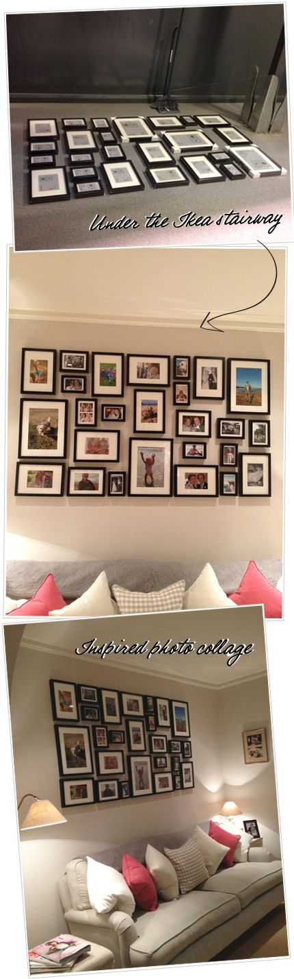 Inspiration for picture wall